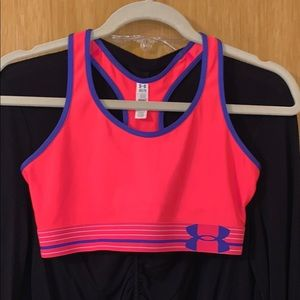 Underarmour sports bra activewear workout yoga